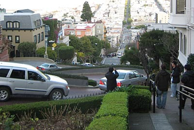Lombard Street in San Francisco is known as the curviest street in the world.