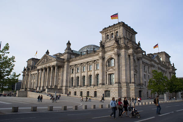 The Berlin Reichstag
