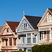 Possibly the world's most recognizable row of houses, the Painted Ladies are a popular sight in S.F.