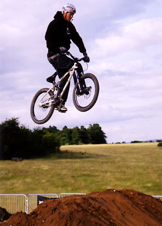 Dirt jumper at Bristol Bike Fest 2004.