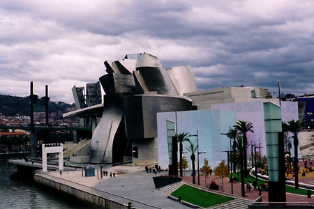 Like a Babushka doll, the Guggenheim Bilbao envelops sculpture in a sculpture.