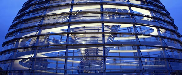 The Reichstag's Dome in Berlin