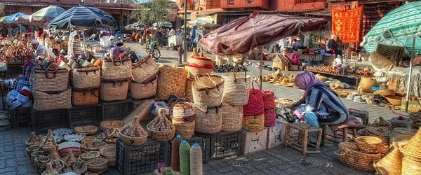Spices Square in Marrakech