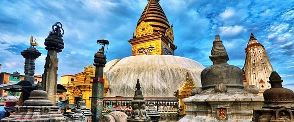 Temples in Kathmandu, Nepal