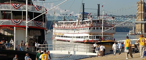 Steamboats in Louisville
