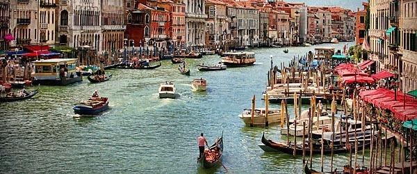 Venice's Grand Canal